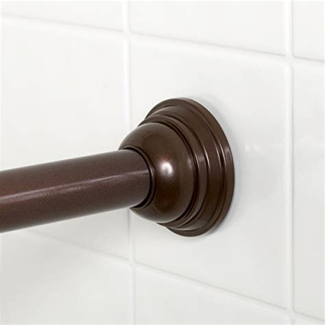 twist and fit curtain rod 72 inches zenna home 775rb tension shower curtain rod 44 to 72