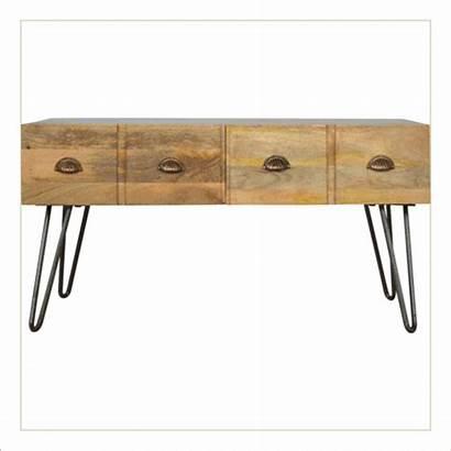Table Coffee Iron Base Furniture Mango Odisha
