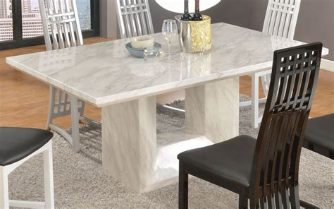 harmonize of granite top dining table in modern