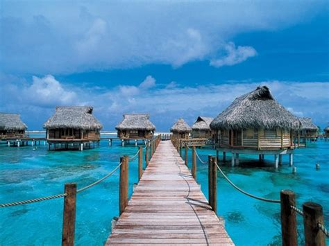 12 Hotels With Overwater Bungalows  Elie M Chahine