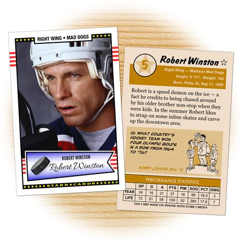 Make Your Own Hockey Card