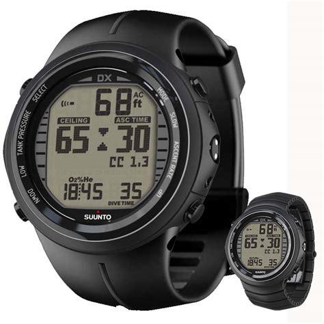 Suunto Dive Watches - suunto dx black dive computer wrist dive computers