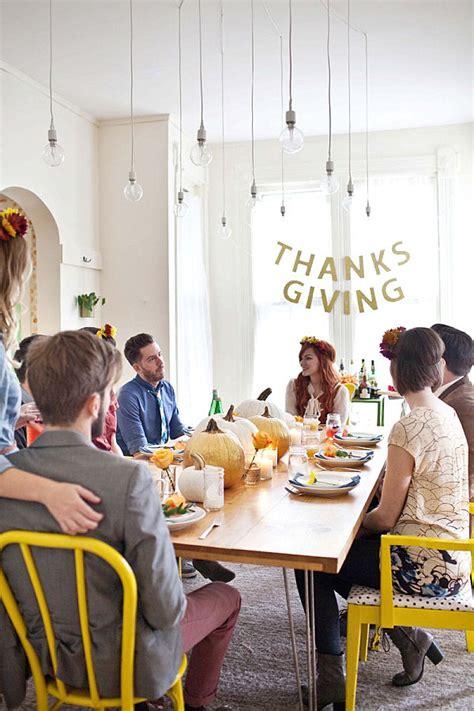 host  stylish friendsgiving feast