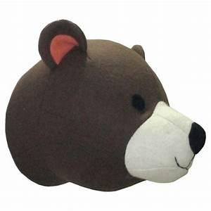 Bear head wall d?cor pillowfort target