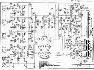 Echolette M100 Sch Service Manual Download  Schematics