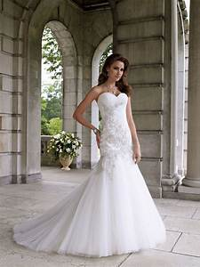 Sweetheart Strapless Mermaid Wedding Dresses: Sexy and ...