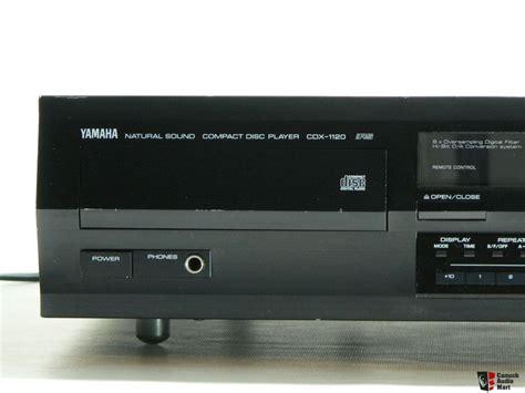 cd player yamaha yamaha cdx 1120 cd player photo 494833 canuck audio mart