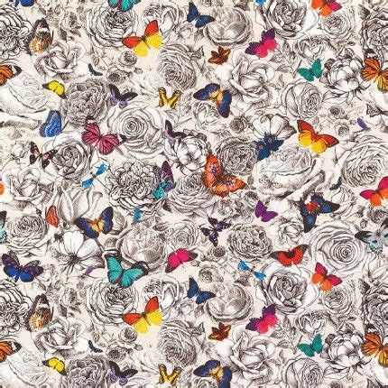 papier peint papillon et tissu papillon etoffe com
