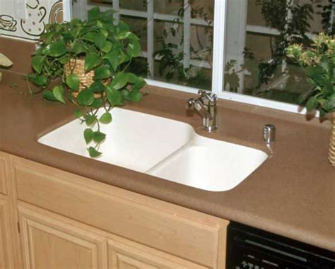 solid surface kitchen sinks solid surface countertops with integral sinks sinks ideas 5605