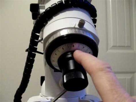 heq pro polar scope calibration  quick tips  polar