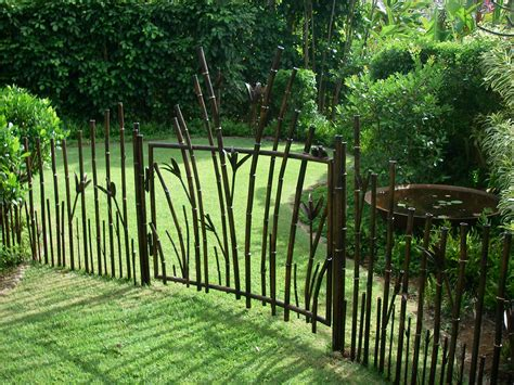 gate and fence designs bamboo fence and gate ideas 187 fencing