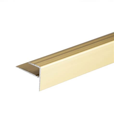 ANODISED ALUMINIUM CARPET EDGE NOSING COVER STRIP DOOR