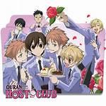 Ouran Host Club Icon Folder Favourites