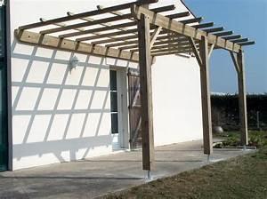 Idee De Pergola En Bois : pergola bois maison inspi pinterest pergolas and construction ~ Melissatoandfro.com Idées de Décoration