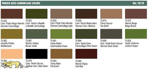 Set Camouflage Colours Vallejo Av70179