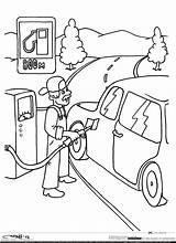 Coloring Gas Station Pump раскраски правила дорожного движения Sketch раскраска sketch template
