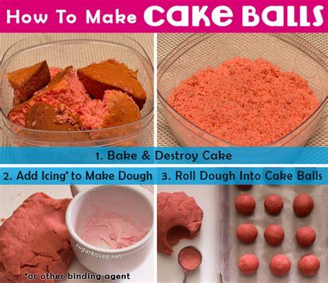 how to make caje banana split cake pops a step by step cake pop tutorial