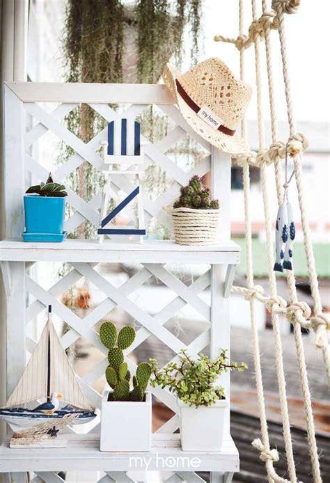 ทำสวนระเบียง ให้เหมือนอยู่ชายทะเลกันเถอะ! A Balcony Seascape - my home