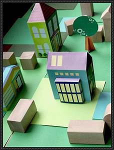 [New Paper Craft] Simple Paper Houses For Kids Free ...