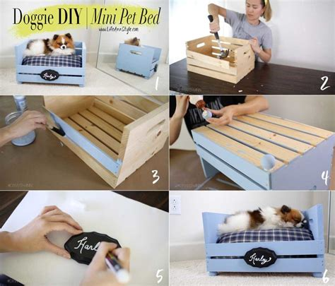 Make a cute & easy pet bed for your fur baby ...