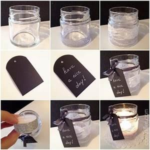 Pot A Bougie : upcylcing transformer un bocal en verre en bougie ~ Teatrodelosmanantiales.com Idées de Décoration