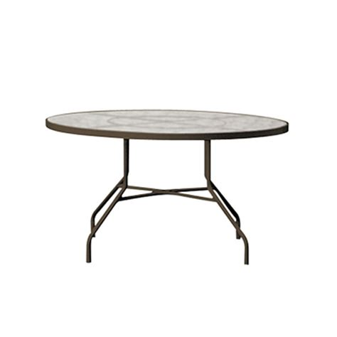 42 inch round dining table tropitone 646n acrylic and glass tables 42 inch round