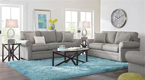 grey livingroom home bellingham gray 7 pc living room