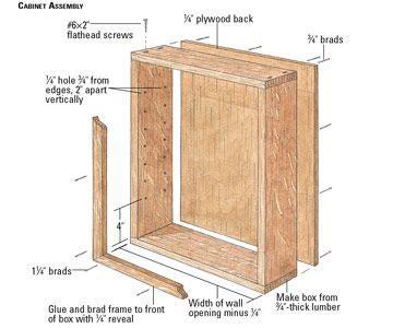 cabinet assembly built  cabinets cabinet plans diy