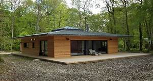 latest lovely maison bois ideas about plan maison ossature With construire sa maison en bois prix