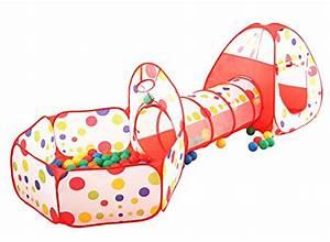 Spielzelt Für Kinder : pericross 3 teilig kinder b llebad spielzelt ~ Whattoseeinmadrid.com Haus und Dekorationen