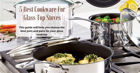 glass stove cookware stoves pans pots