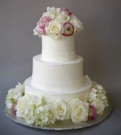 Simple Cake Fresh Flower Wedding Cake Simple Cake Decorating For A Birthday Cake Of Your Loved Ones