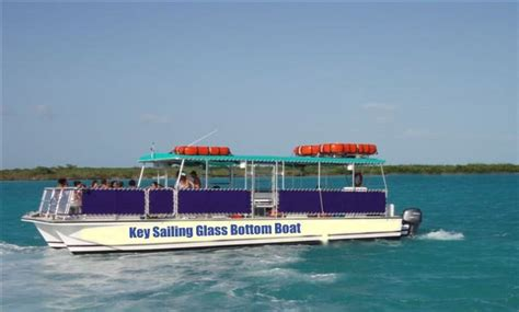 Parasailing Boats For Sale In Florida by New Glass Bottom Boat Tours Key Sailing
