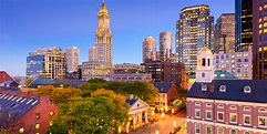 Boston, Massachusetts, USA downtown cityscape. - Kore 1