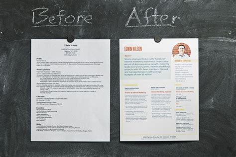 contracts it it resume makeover highlighting business