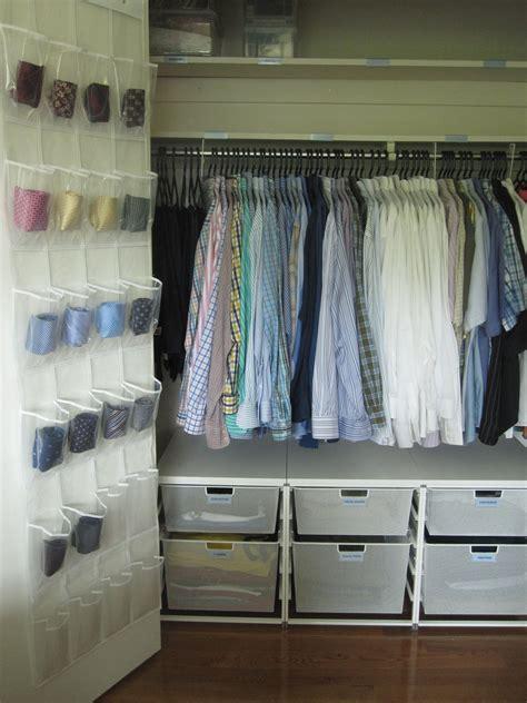 super duper organized mens closet ryans tons  ties