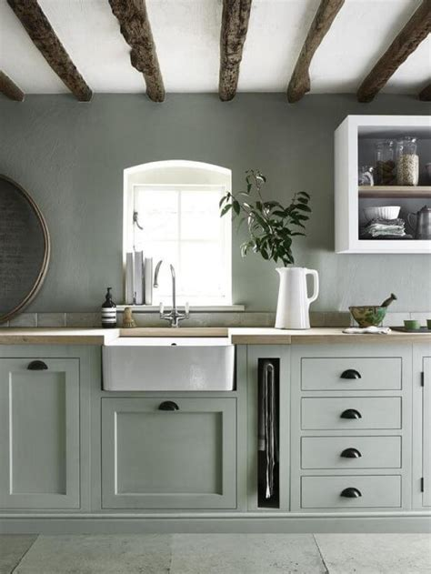 green kitchen furniture 15 green kitchen cabinets design photos ideas inspiration 1411