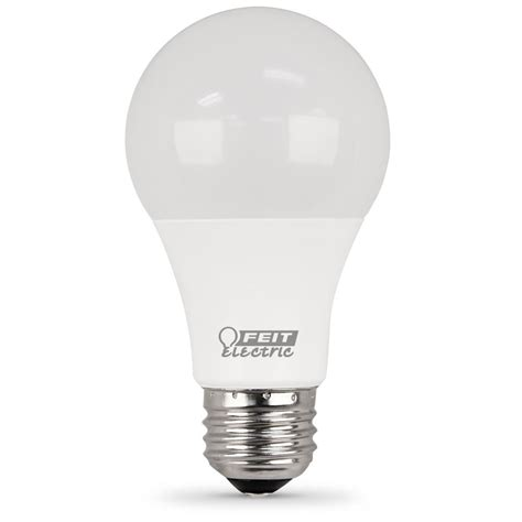 feit electric 75w equivalent warm white a19 dimmable led