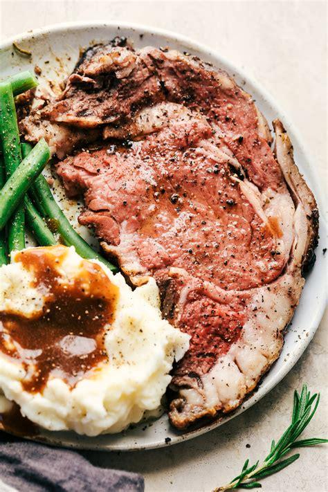 recipe for prime rib garlic butter herb prime rib the recipe critic