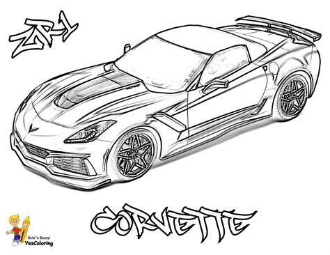 Speed Racer Coloring Pages - Coloring4Free.com | 366x474