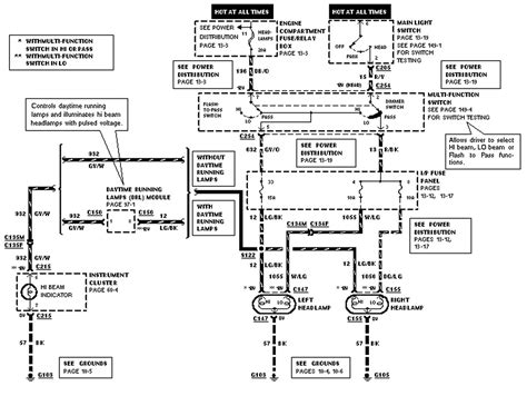 Wiring Diagram For 2002 Ford Ranger by I A 1996 Ranger Beams Do Not Light Up Replaced