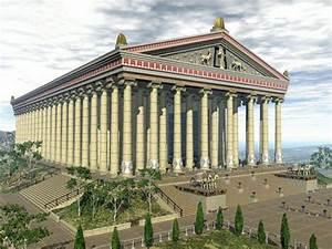Temple Of Artemis Ephesus Computer Reconstruction