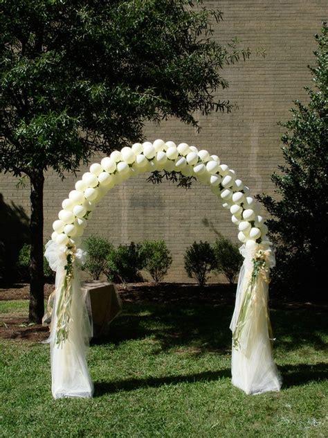 arch wedding wedding arch balloon ideas