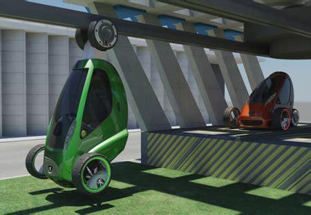 Future Transportation  Lift Car Concept  Hang Your Car