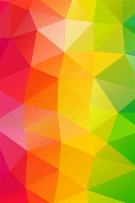 640x960 Triangles Colorful Background Iphone 4, Iphone 4s