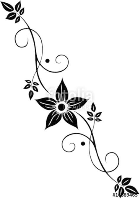 Muster Blumenranke Einfach by Quot Blume Bl 252 Te Ranke Filigran Floral Ornamental