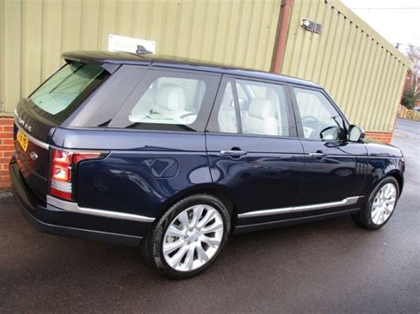 range rover dark blue used metallic dark sapphire blue land rover range rover