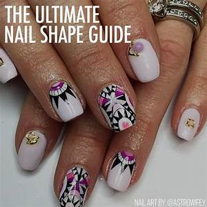 The Ultimate Nail Shape Guide  - Nailstyle