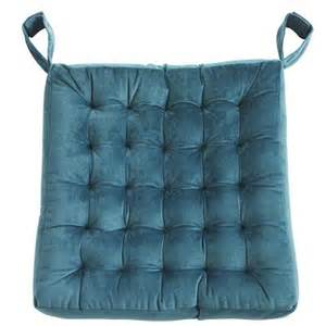 plush dining cushion teal pier 1 imports