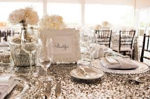 wedding table linens inspiration sequins ultrapom wedding and event decor rental